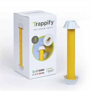 Indoor/Outdoor Hanging Fly Stick Trap