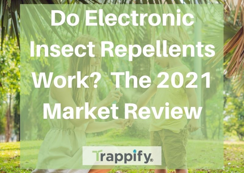 Do Electronic Insect Repellents Work? The 2021 Market Overview